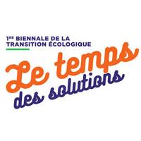 logo de la biennale de la transition écologique